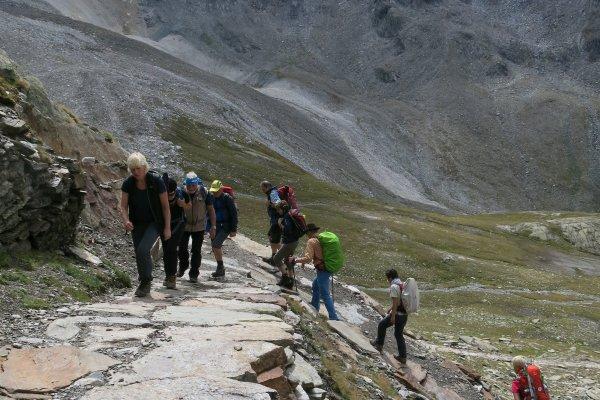 Aufstieg zum Eisjöchl