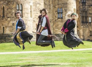Broomstick Training, Alnwick