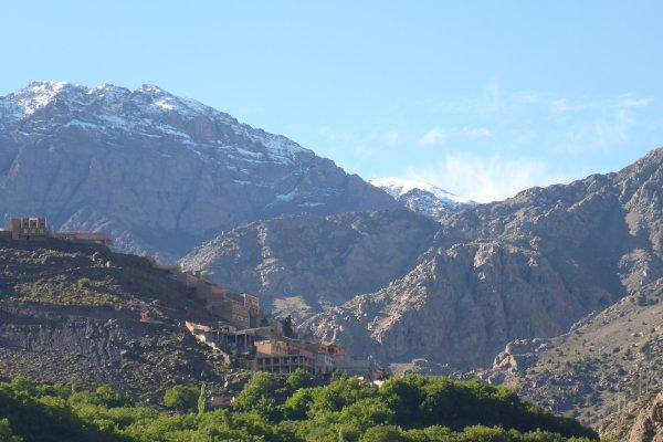 Blick von Imlill zum Toubkal