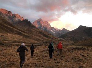 Sonnenuntergang in Peru
