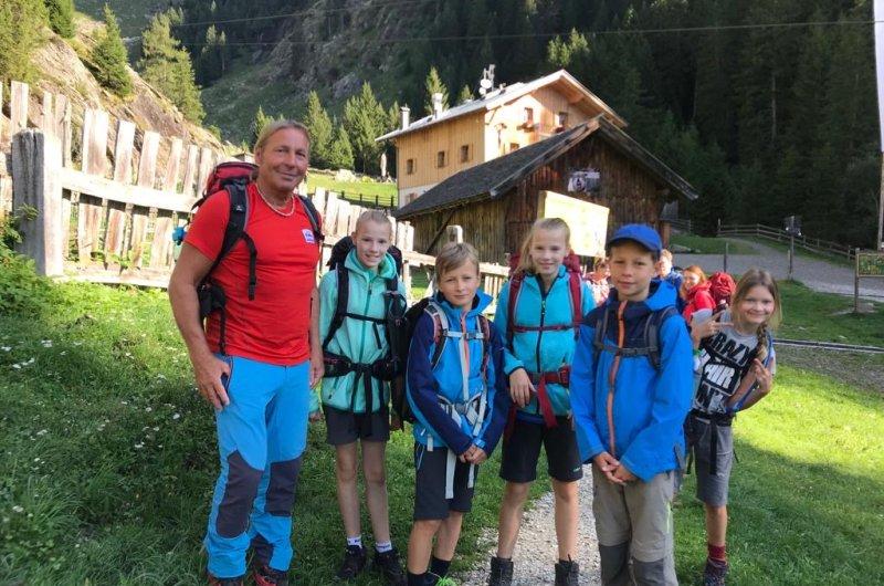 Meran-Gardasee mit Kinder Joe Nassereith Hütte