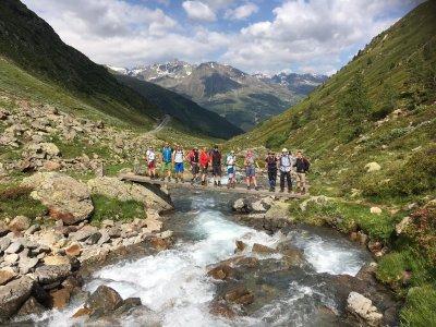 E5 Komfort Spezial Abstieg nach Zwieselstein
