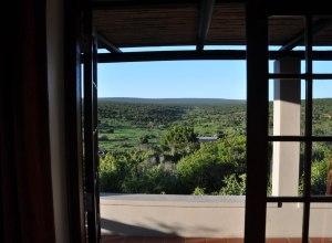 Ausblick von der Lodge