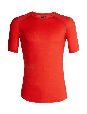 T-Shirt Icebreaker Herren rot