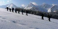 Schneeschuhgruppe