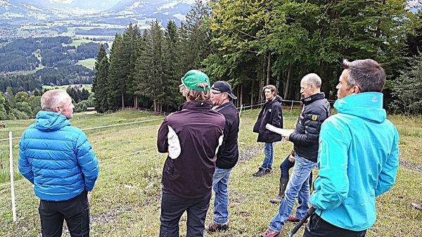 FIS-Inspektion Slalom-Start