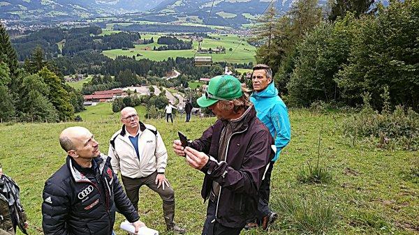 FIS-Inspektion mit Markus Mayr und Andreas Krönner