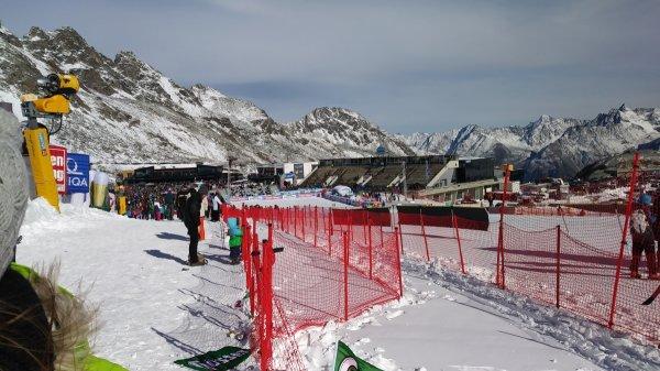 Skistadion Sölden - Weltcup Damen