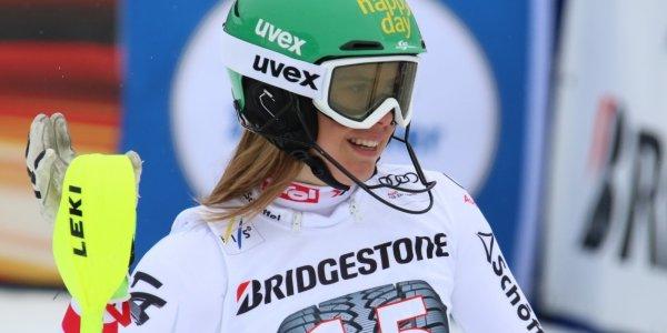 Slalom-Weltcupsiegerin Katharina Liensberger