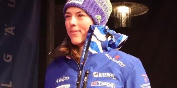 Gesamt-Weltcupsiegerin Petra Vlhova