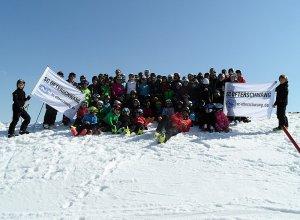 Das Nachwuchsteam des Skiclub Ofterschwang