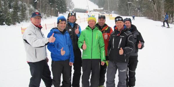 Snow Control beim Weltcup Ofterschwang
