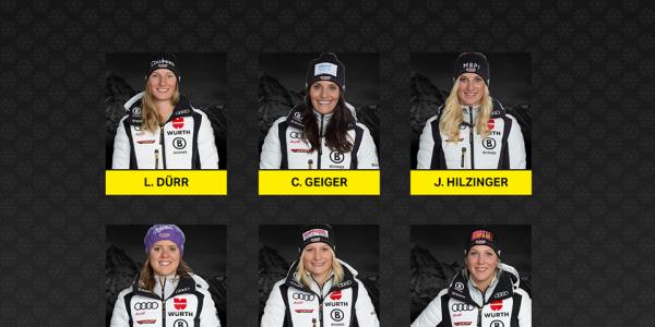 DSV Starterinnen in Killington (Foto: Deutscher Skiverband/ Facebook DSV Alpin)