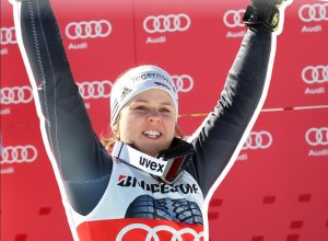Viktoria Rebensburg - Doppelsiegerin 2012