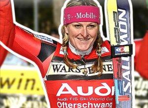 Janica Kostelic - Doppelsiegerin 2001 und 2006