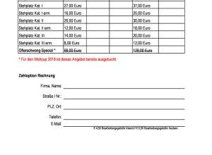 Ticketbestellformular Ski-Weltcup Ofterschwang
