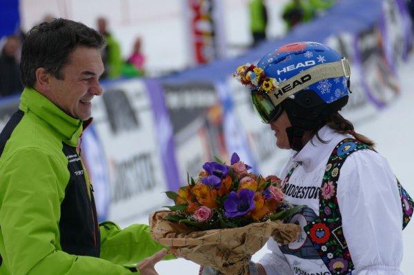 Michael Fässler und Veronika Velez Zuzuolova