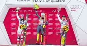 Siegerehrung Slalom