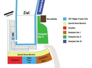 Stadionplan