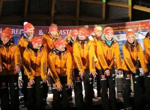 Oberstdorfer Welle bei der Eröffnungsfeier
