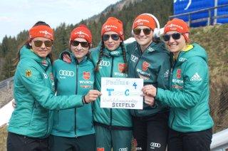 DSV Springerinnen werben für Teamspringen