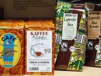 Kaffee aus dem Weltladen im Allgäu