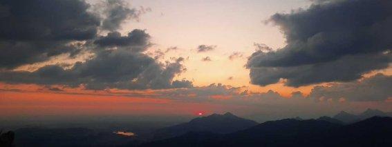 Sonnenaufgang auf dem Grünten