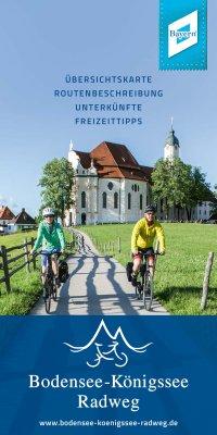 Bodensee-Königssee Radweg Flyer