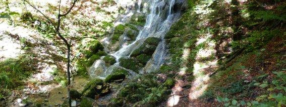 Schießbachtobel Wasserfall