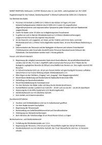Hygienekonzept Freibad Wertach vom 19. Juni 2020, geändert 28.7.