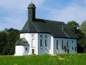 St. Sebastianskapelle im Sommer