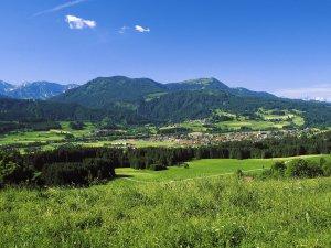 Wertach Sommerpanorama
