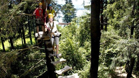 Kletterwald am Grüntensee