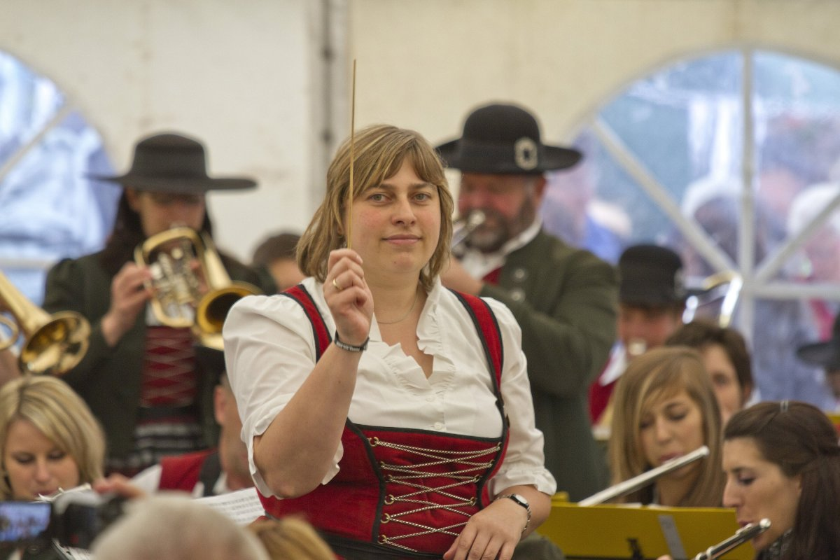 Dirigentin Petra Huber