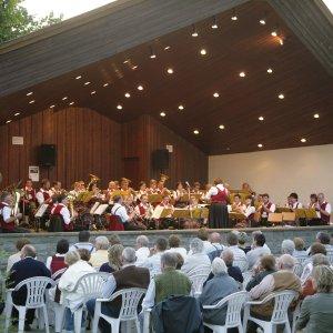 Standkonzert im Musikpavillion im Kurpark