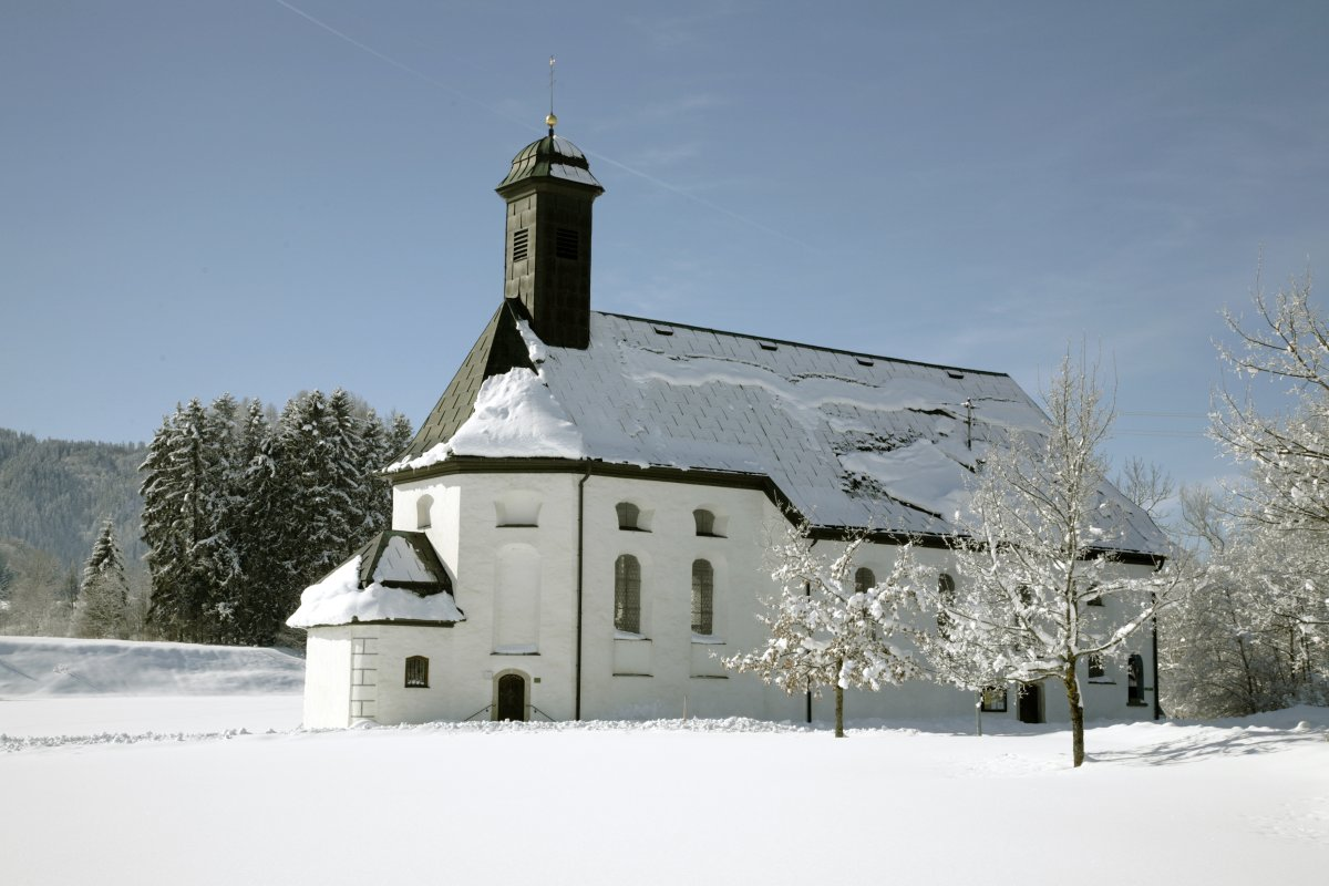 St. Sebastianskapelle im Winter