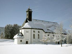 St. Sebastianskapelle im Winter
