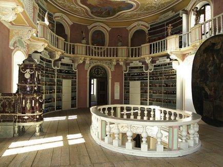 Füssen Bibliothek St. Mang