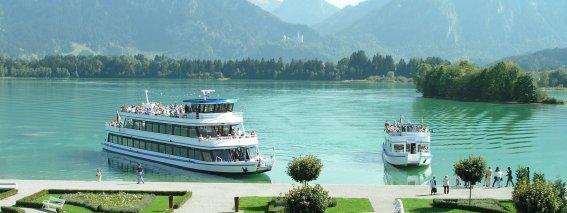 Füssen Forggenseeschifffahrt