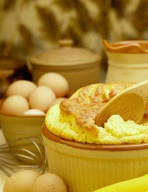 Eierauflauf