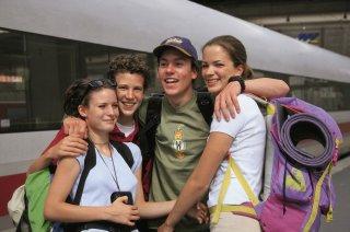 Anreise Jugend Bahn