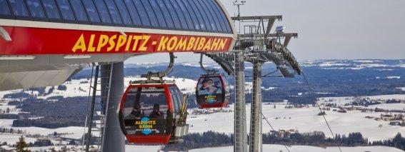 Alpspitzbahn Winter