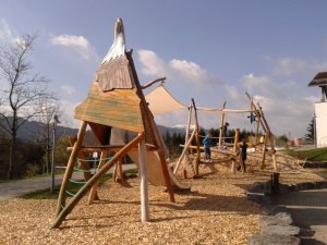 Spielplatz am Allgäuhaus