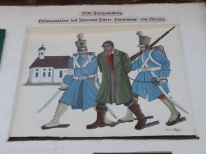 Station 5: Freske vom Pfarrhauptmann