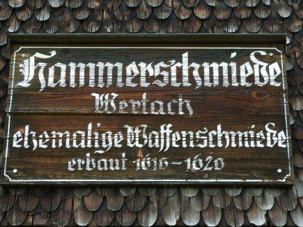 Tafel Hammerschmiede