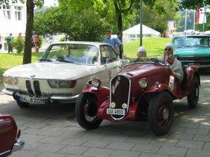 Gamsbartrallye Fiat Balilla am Start