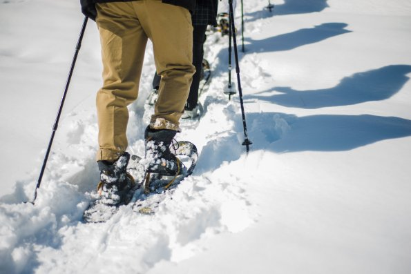 Schneeschuhwandern-Bader