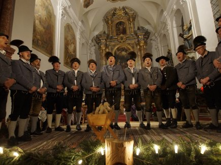Adventliches Singen Wertacher Buabe
