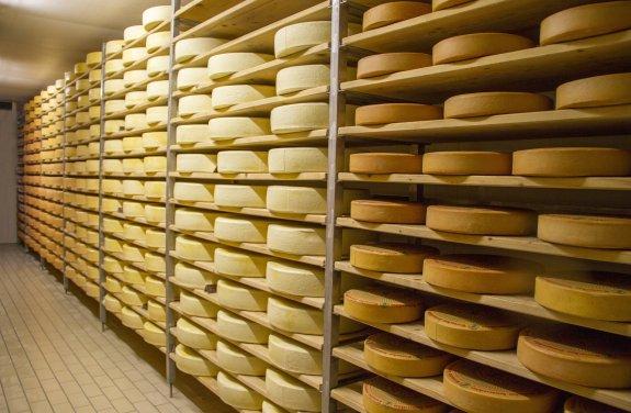 Das Käselager