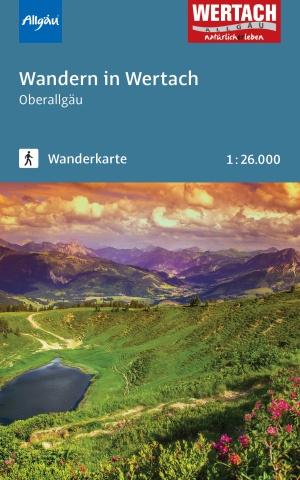 Wanderkarte Wertach